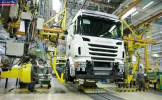 تولید شش خودروی سنگین متوقف شد