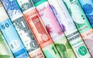 رشد قیمت دلار و پوند بانکی و افت ارزش یورو