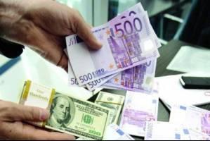 رشد قیمت دلار و پوند انگلیس و افت یورو بانکی