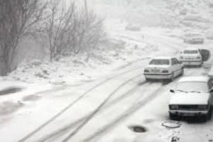 بارش برف و باران نوروزی در ۱۲ استان کشور؛ ترافیک در هراز