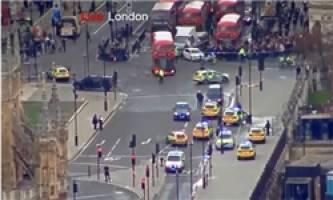 شمار تلفات حمله تروریستی در مقابل پارلمان انگلیس به ۵ کشته و ۴۰ زخمی رسید