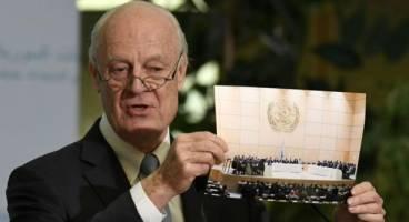 درخواست دیمیستورا برای مذاکره روسیه، ترکیه و ایران درباره سوریه