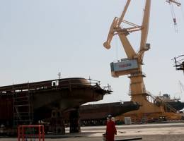 جلوگیری از سفارش خرید کشتیهای بزرگ از خارج