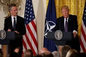 ترامپ: ائتلاف نظامی ناتو، دیگر پیمانی منسوخ نیست