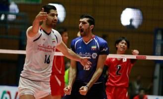 امیدهای والیبال ایران بر بام آسیا