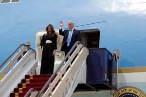 ترامپ وارد عربستان شد