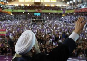 پیروزی حسن روحانی در انتخابات ریاست جمهوری با کسب 23 میلیون و 549 هزار رای