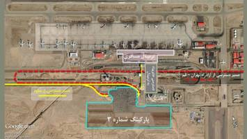 اعلام مسیر جدید دسترسی به ترمینال فرودگاه امام (ره) + نقشه