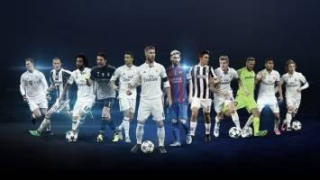 اعلام فهرست نامزدهای بهترین های لیگ قهرمانان و لیگ اروپا