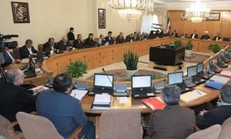 بررسی گزارش بودجه ۱۳۹۶ در هیئت دولت