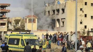 155 کشته در حمله به مسجدی در سینای شمالی