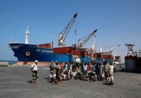پنج کشتی کمکهای انسانی منتظر اجازه ائتلاف عربی برای ورود به یمن هستند