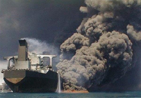 آمادهسازی شرایط برای ورود نیروهای امدادی به داخل نفتکش ایرانی