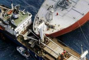 ناپدید شدن 30 ایرانی در تصادف دو کشتی در چین