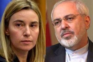 دعوت موگرینی از ظریف برای گفتوگو درباره اعتراضهای اخیر ایران