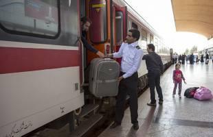رشد ۶.۵ درصدی مسافران قطار در سال ۹۶