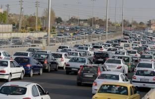 ترافیک نیمه سنگین در محورهای شمالی و منتهی به تهران
