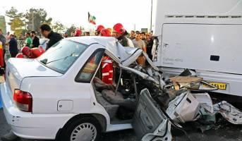 استانهای دارای بیشترین قربانی در حوادث رانندگی نوروزی+نمودار