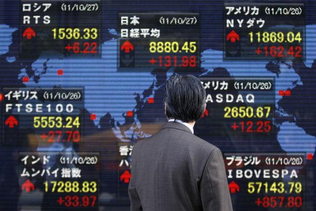 در معاملات امروز بازارهای جهان؛ سهام آسیایی با والاستریت پشتیبانی شد