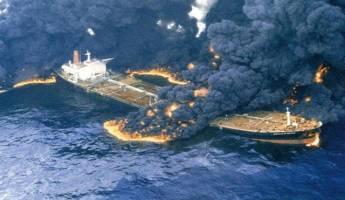 گزارش لحظهبهلحظه از دقایق پایانی زندگی در کشتی سانچی