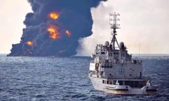 تغییر مسیر کشتی چینی علت اصلی حادثه سانچی بود