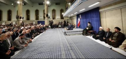 مسئولان و کارگزاران نظام با رهبر معظم انقلاب اسلامی دیدار کردند