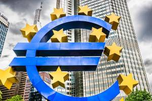 یورو به بالاترین نرخ دو هفتهای خود رسید