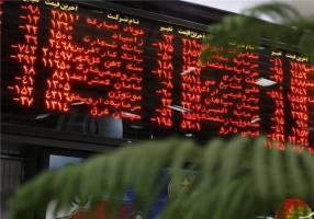 فشار عرضه و کاهش قیمتها در بورس تهران