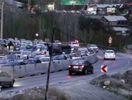 محدودیت های ترافیکی در دو جاده چالوس و هراز