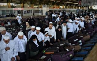 تداوم بازگشت ۸۵ هزار حاجی به کشور تا ۲۵ شهریور