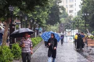 روند بارشی کشور در دهه اول مهر