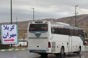 ۱۵هزار اتوبوس درخدمت زائران اربعین