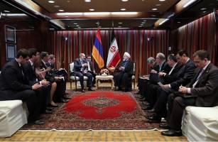 روحانی: درزمینه سوآپ انرژی آماده همکاری باارمنستان هستیم