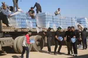 توزیع ۱.۸ میلیون بطری آب معدنی بین زوار اربعین