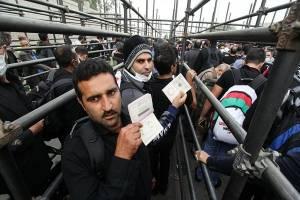 یک میلیون زائر از کشور خارج شدند