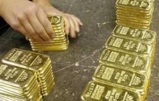 کاهش قیمت طلا در واکنش به رشد دلار