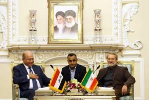 لاریجانی: بدخواهان نتوانستند عراق جدید را ناکام بگذارند