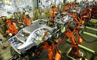 تولید خودرو ۴۰ درصد کاهش یافت