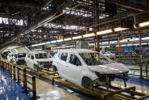کاهش ۴۰ درصدی تولید خودروی سواری در مهرماه