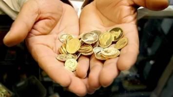 نرخ سکه باز هم کاهش یافت