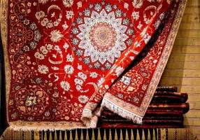 فرش معتمد قزوین قابلیت ثبت ملی و جهانی دارد