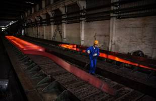 افزایش ۱۰ درصد تولید فولاد خام کشور