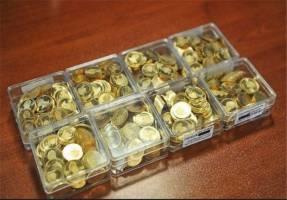 معامله ۱۳۰۰ میلیارد تومانی سکه طلا