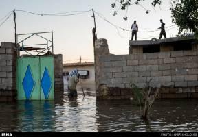 وقوع سیل در خوزستان و ۸ استان دیگر