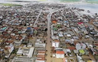 رهاسازی ناگهانی آب سد،علت تشدیدسیل گلستان