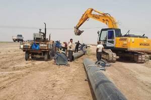 تحویل ۷۰۰ متر خط لوله گاز به استان گلستان