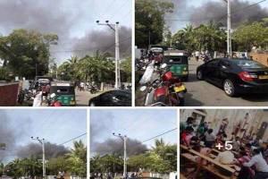 قلب سریلانکا در آتش وخون