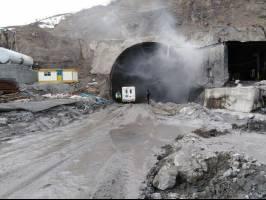 انفجار کپسول گاز؛ عامل آتش سوزی در تونل آزادراه تهران-شمال