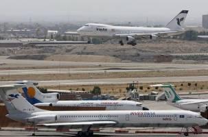کاهش یک میلیون نفری مسافران هوایی در ۹۷
