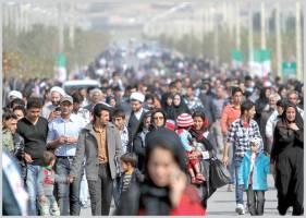 رشد۶۰میلیونی جمعیت در ۶۰سال
